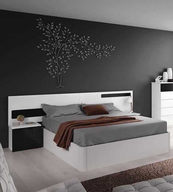 Dormitorio de matrimonio cabecero y mesitas for Mesitas dormitorio matrimonio