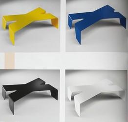 Mesa Max amarillo azul negro y blanco