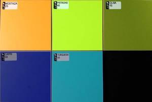 Colores de melamina