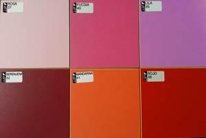 Colores melamina