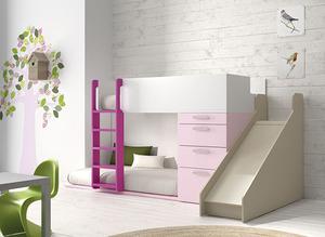 Litera rosa y blanca
