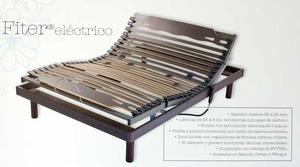 Somier eléctrico bastidor madera
