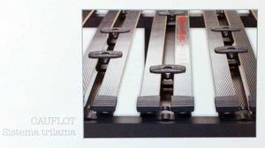 Detalle regulación lumbar con tres láminas