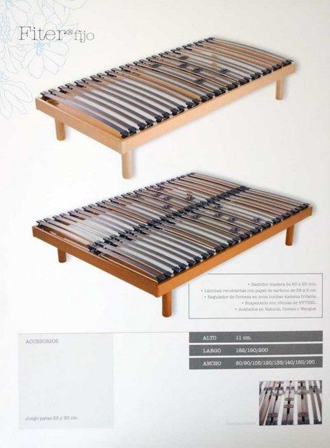 Muebles Kit - Somier fijo Fiter - Mkit