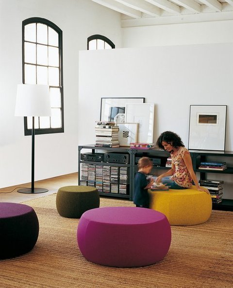 Muebles Kit - Pouf Laika redondo