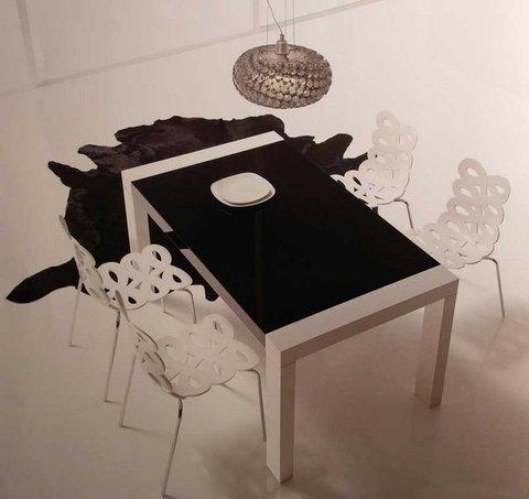 Muebles Kit - Mesa comedor Luarca Laca - Mkit