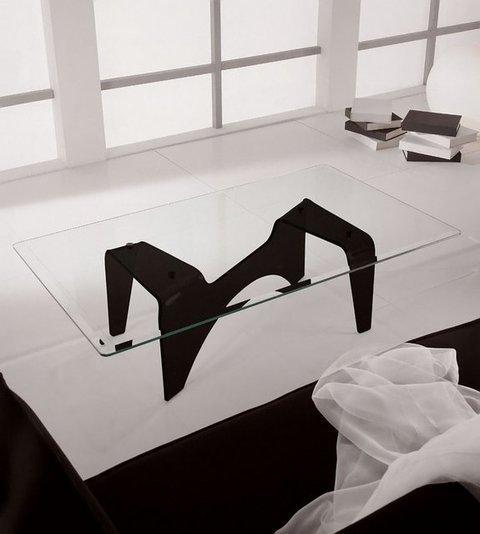 Muebles Kit - Mesa centro cristal ARAK - Mkit