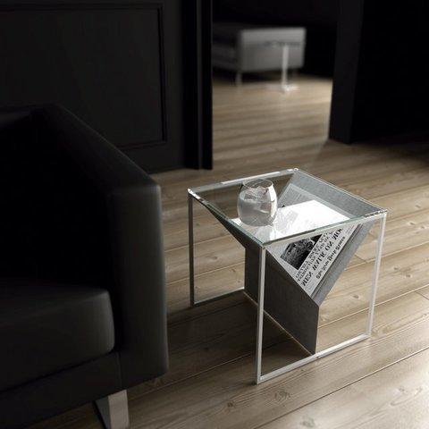 Mesa con revistero Zin