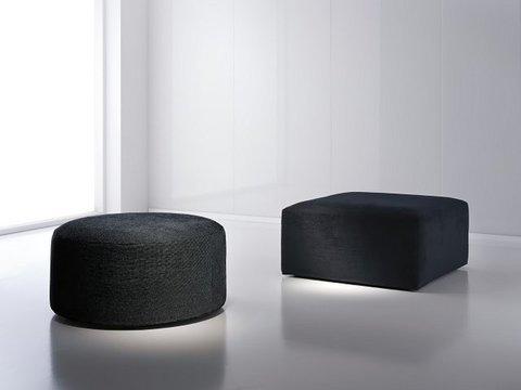 Muebles Kit - Poufs monobloque redondos y cuadrados - Mkit