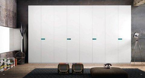 Muebles Kit - Armario puertas pivotantes. - Mkit