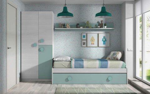 Muebles Kit - Nido y estantería Aire - Mkit