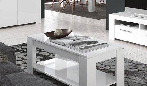 Muebles Kit - Mesa centro con balda. - Mkit
