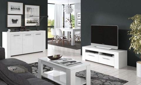 Muebles Kit  Salón Urban, mueble de tV y aparador  Mkit