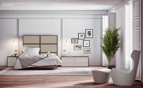 Muebles Kit - Dormitorio Marcos tapizados - Mkit