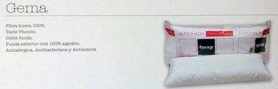 Almohada fibra hueca Gema