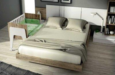 Cuna para dormitorio matrimonio