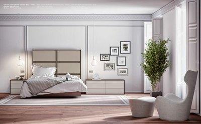 Dormitorio Marcos tapizados