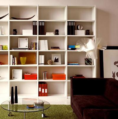 Estudio, escritorios y librerias